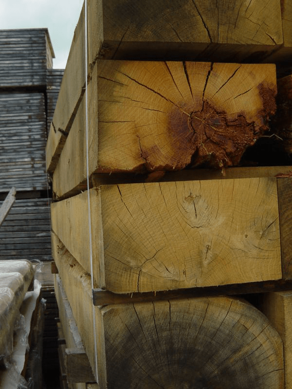 Ehrhardt Bauelemente Eichenschwellen