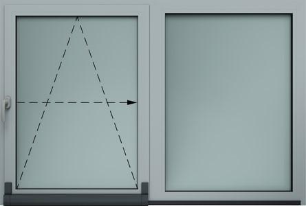 Kippschiebefenster